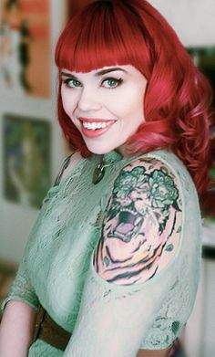 The amazingly talented artist Megan Lara sits down with Inkedmag.com to discuss her art, her love of pop culture and her tattoo work done by another creative mind, Jessie Hopeless of Exile Tattoo in Kansas City. #InkedMagazine #tattoos #tattoo #inked #art