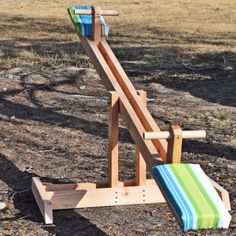 DIY Birthday SeeSaw!!!  Another project for James!!