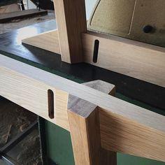 Oak Wonton bases coming together.  #joinery #oak #custommade #furnituremaker #wontonrange #australiandesign #wontonrange #sydney