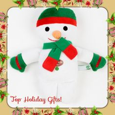 Snowman Dog Toy!    For the Best Gifts for dogs lovers Check out CanineStyles.com  christmas wishlist dog dogs doglovers Easy