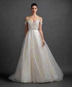 Lazaro Style 3907 Juliet Bridal Gown
