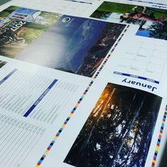 Just received the press proof for the new 2017 calendar for the City of Lake Forest. #print #calendar #2017 #press #proof #printee #graphicdesignblog #graphics #graphicdeaigner #graphicdesign #currydesign #offset #offsetpress