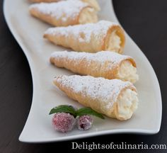 #creamhorns with fluffy whipped #cream