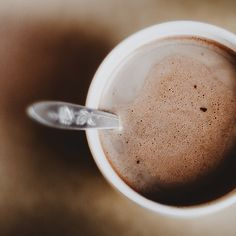 Nothing like a good cup of hot chocolate on a cold day!