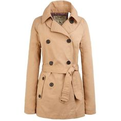 Jack Wills Ravensdale Trench Coat ($198) ❤ liked on Polyvore