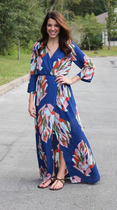 Everly: Time And Time Again Maxi #shopacutabove #maxi #dress