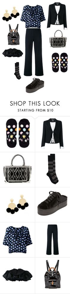 """""""JUST DO IT"""" by ramakumari ❤ liked on Polyvore featuring Happy Socks, Ann Demeulemeester, Antonello Tedde, Marni, Elizabeth and James, Jeffrey Campbell, Boutique Moschino, Vis-à-Vis and Bambah"""