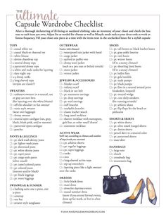 This free printable ultimate capsule wardrobe checklist is exactly what I need t. This free printable ultimate capsule wardrobe checklist is exactly what I need to put together a classic and stylish closet full of clothing I love to wear! Capsule Wardrobe Mom, Build A Wardrobe, Capsule Outfits, Fashion Capsule, Wardrobe Basics, Work Wardrobe, Closet Basics, Capsule Wardrobe Essentials, Staple Wardrobe Pieces