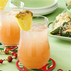 Guava Coconut Rum Cocktail Recipe -My beverage is so sensational it's like a taste of the tropics in a glass. The guava adds a touch of sweetness to this coconut drink. —Melanie Milhorat, New York, New York