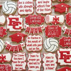 Graduation Party Desserts, Graduation Cookies, Graduation Celebration, Grad Parties, Graduation Year, Fancy Cookies, Cut Out Cookies, Cute Cookies, Frosted Cookies
