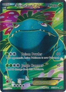 Venusaur EX 141/146 - Pokemon XY Holo Full Art Ultra Rare Card I really want this!