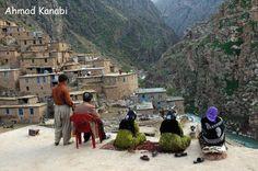 Kurdistan life in mountains
