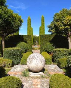 Container Gardening - An Answer To Minimal House For Increasing Vegetation Big Game Hunting In Provence: The Amazing Gardens Of Dominique Lafourcade La Dolce Vita California Topiary Garden, Garden Pool, Garden Art, Shade Garden, Garden Landscaping, Rooftop Garden, Easy Garden, Balcony Garden, Formal Garden Design