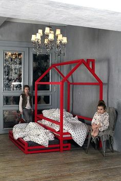 There's a lot data obtainable in the present day pertaining to your child room décor, in truth not solely that exact topic however each different one that's associated to your child and your child wants. House Beds For Kids, Kid Beds, Girl Room, Girls Bedroom, Child Room, House Bunk Bed, Baby Room Decor, Bedroom Decor, Toddler Rooms
