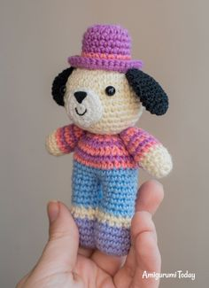 Charlie the Dog - Free Crochet Pattern