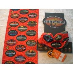Survivor Buff - 10th Anniversary Special Edition Logo Buff - All 20 TV Season Logos