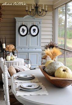 Dear Lillie: Thanksgiving Porch