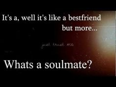 ▶  FREE AUDIO  *What's a soulmate quote* - YouTube