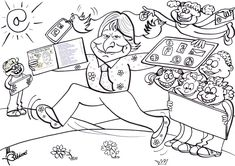 Arts And Crafts, Comics, School, Fictional Characters, Anaya, Ideas Para, Classroom Ideas, Literatura, Cat