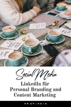 Warum und wie du LinkedIn für Content Marketing und Personal Branding nutzen kannst. #linkedin