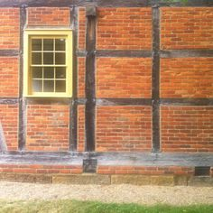Blacksmith's shop Zoar Village OH,  heavy timber and brick