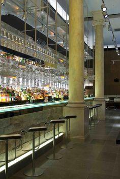 Mint Leaf Lounge, London designed by Julian Taylor Associates