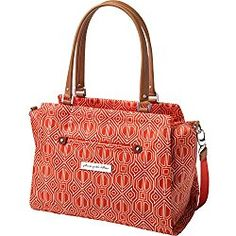 724f3269ab Petunia Pickle Bottom Statement Satchel Diaper Bag in Paprika