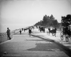 This was Lake Shore Drive in Chicago in 1905.