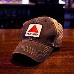"Fenway Patch ""Dirty Water Trucker"" Hat - Navy - chowdaheadz  - 4"