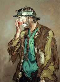 emmettkellyjr - Google Search Emmett Kelly Clown, Circus City, Dark Circus, Send In The Clowns, Clown Faces, Clowning Around, Background Pictures, Art Drawings, Princess Zelda
