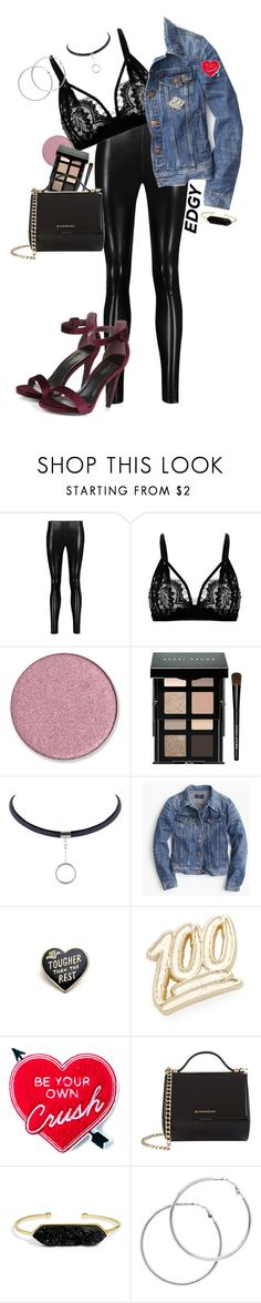 """Edge"" by genesism119 ❤ liked on Polyvore featuring Norma Kamali, Bobbi Brown Cosmetics, J.Crew, PINTRILL, Yvng Pearl, Givenchy, BaubleBar and Melissa Odabash"