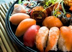 Sushi and Japanese Food for Two or Four People at Koi Japanese Cuisine Off). Two Options Available. Japanese Sushi, Japanese Dishes, Asian Recipes, Healthy Recipes, Ethnic Recipes, Sushi Rock, Japanese Steakhouse, Sushi Platter, Food Club