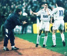 Primer gol de Raúl en el Madrid