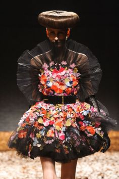 Divine flowers by McQ by Alexander McQueen