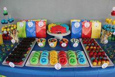 ideas for rainbow party