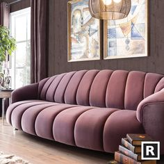 Seductive Curved Sofas For A Modern Living Room Design Amazing modern sofas ideas to inspire you Living Room Sofa Design, Living Room Designs, Living Room Decor, Sofa Furniture, Luxury Furniture, Furniture Design, Room Interior, Interior Design, Interior Concept