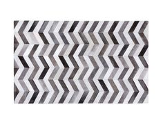 Dywan szary 140 x 200 cm skórzany AKSAZ_688479 Chevron, Beige, Products, Shopping, Scrappy Quilts, Neutral, Ash Beige, Beauty Products, Beige Colour