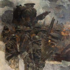 World War Robots... Bramble and squad