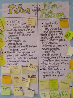 differences between fiction and nonfiction