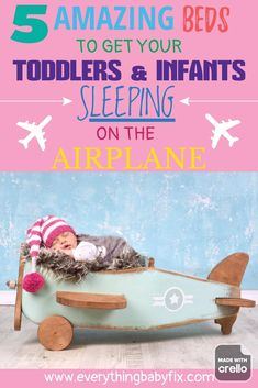 5 Amazing Airplane Beds For Your Baby. Having A Comfortable Airplane Bed For Your Toddler Or Infant To Sleep In Can Make Flying More Enjoyable For Everyone! Baby Sleep Site, Help Baby Sleep, Get Baby, Baby Boy, Airplane Bed, Airplane Travel, 2 Week Old Baby, Baby On Plane, Sleeping On Back