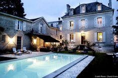 Maison et sa piscine