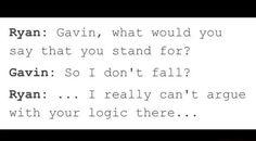 Ryan vs. Gavin - Logic