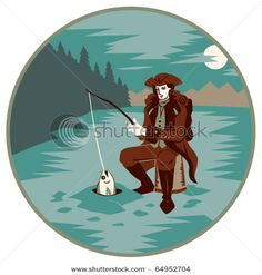 ice fishing Winter Fishing, Ice Fishing, The Great Outdoors, Fictional Characters, Art, Noel, Art Background, Kunst, Performing Arts
