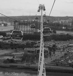 Emirates cable cars, Greenwich, London