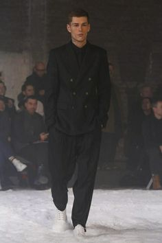 AMI Alexandre Mattiussi Menswear Fall Winter 2014 Paris - NOWFASHION