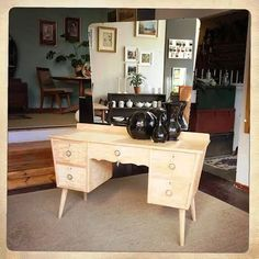 ANOUK offers an eclectic mix of vintage/retro furniture & décor.  Visit us: Instagram: @AnoukFurniture  Facebook: AnoukFurnitureDecor   February 2016, Cape Town, SA. Retro Furniture, Furniture Decor, February 2016, Dressing Table, Cape Town, Office Desk, Retro Vintage, Mid Century, Vanity