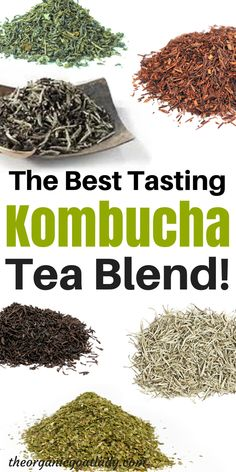 Do you want to have the healthiest, best tasting Kombucha? Then you need the healthiest, best tasting tea blend to make it with! This tea blend is. Best Kombucha, Kombucha Flavors, Kombucha Scoby, How To Brew Kombucha, Kombucha Recipe, Coffee Kombucha, Best Non Alcoholic Drinks, Blended Coffee Drinks, Fermentation Recipes