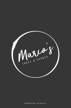 Logo design concept for startup restaurant. Brand identity.