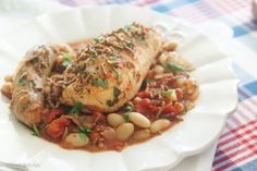 Healthy & Easy French Chicken Cassoulet Recipe on Yummly