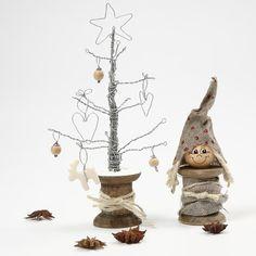 albero di natale con filo di ferro 10